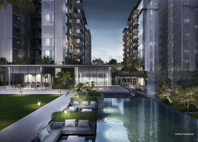 Freehold development Forett at Bukit Timah by Qingjian Realty, developer of LeQuest
